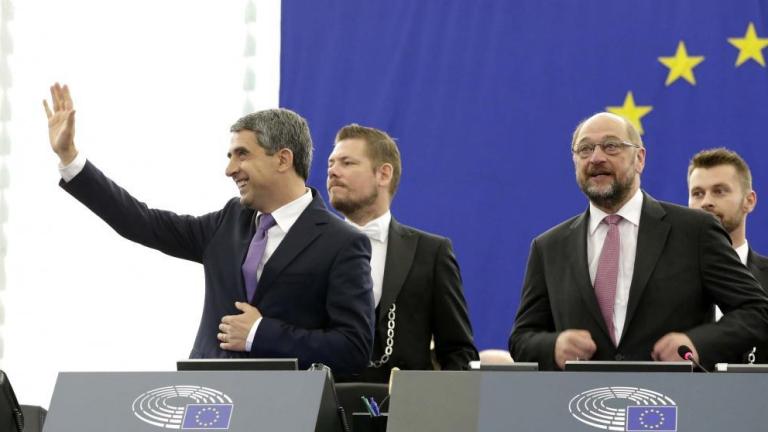 Плевнелиев пред Европарламента: Кремъл е против нас