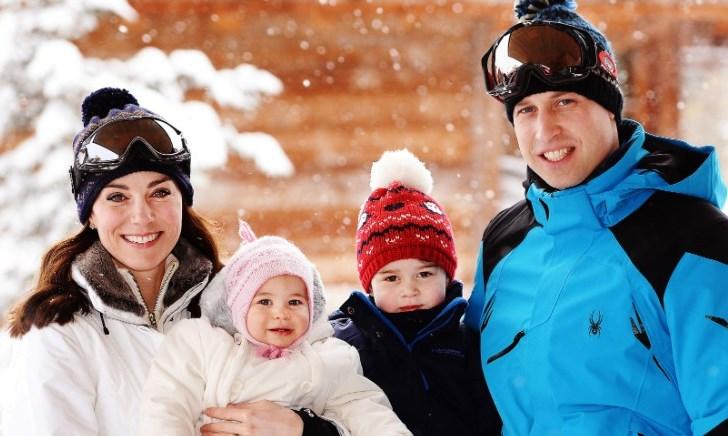 Кейт Мидълтън в безупречен стил в снежните Алпи