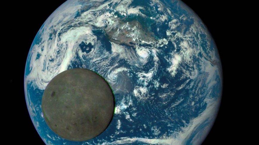 Уникални снимки на тъмната страна на Луната