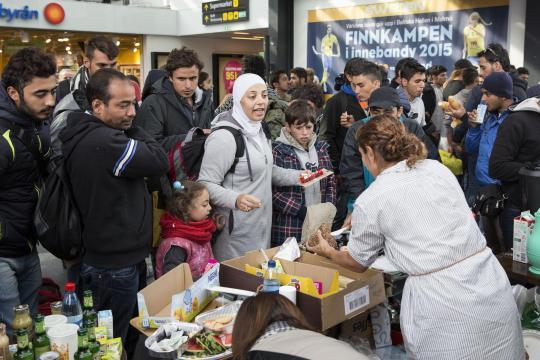 Щвеция и бежанската вълна