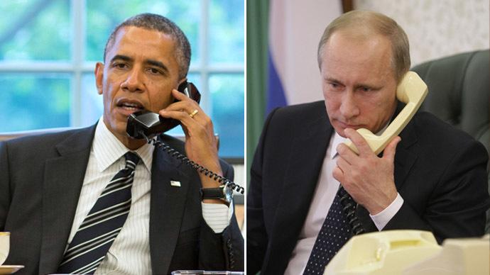 Обама и Путин си говориха по телефона за Сирия