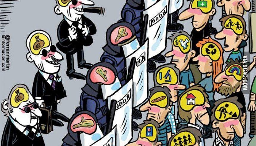Пустите протестъри станали… контра