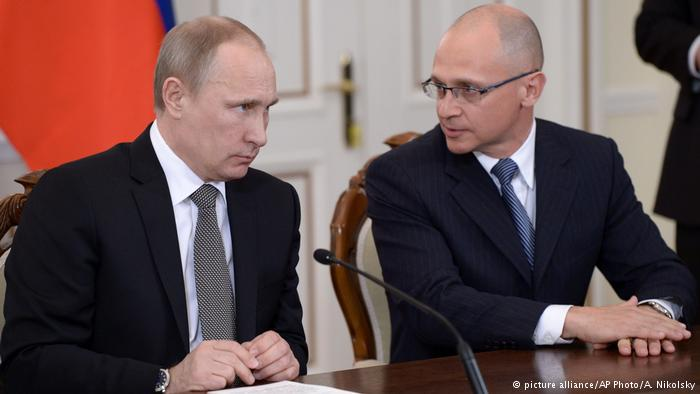 Кириенко – новият силен човек в Кремъл