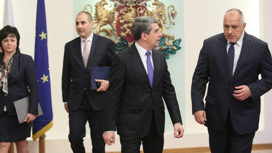 Борисов съгласен да подкрепи кабинет на ПФ и РБ без да е премиер
