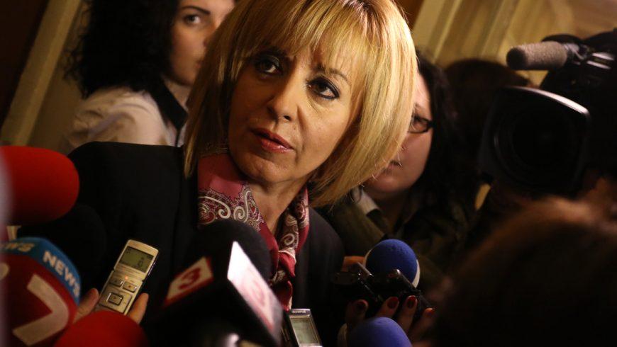 Манолова все още не е решила дали ще се кандидатира за столичен кмет