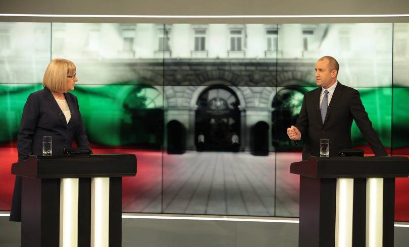 Румен Радев увеличи преднината си пред Цецка Цачева според зрителите на БНТ