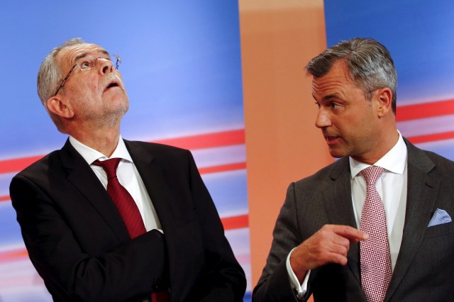 Крайнодесният кандидат загуби вота в Австрия