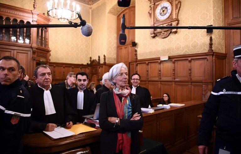 Кристин Лагард бе призната за виновна по обвинения за злоупотреби с публични средства