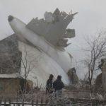 Самолет се разби в блокове в Киргизстан