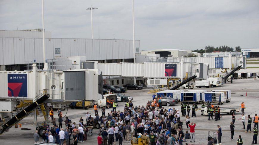 При стрелба на летището във Форт Лодърдейл, Флорида има 5 убити и 13 ранени