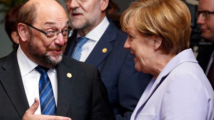 Мартин Шулц се готви за победа над Меркел