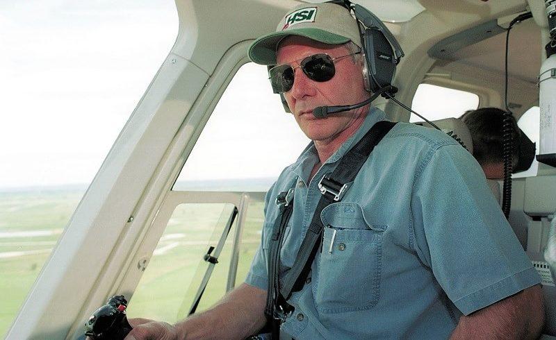 Самолетът на Харисън Форд на косъм от сблъсък с Боинг