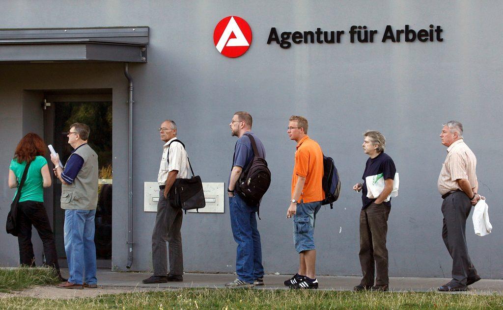 Германия-безработица