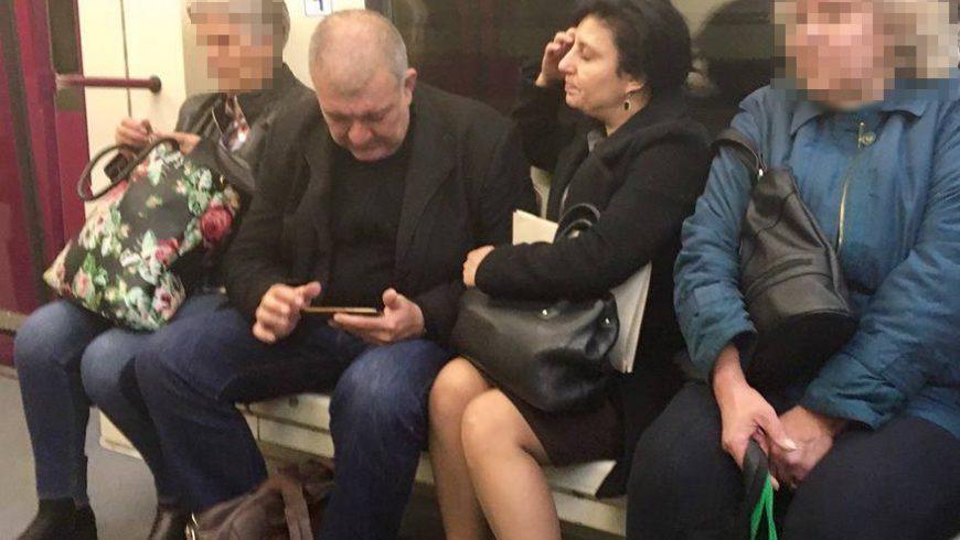 Георги Костов приземен в метрото