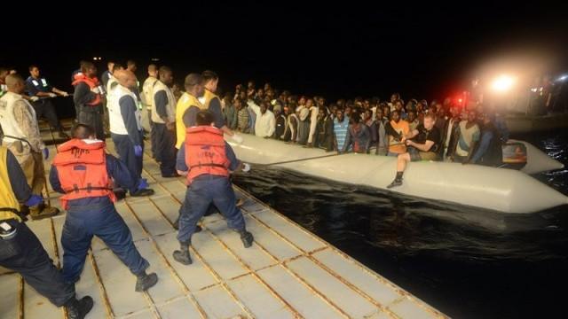 970 мигранти спасени в Средиземно море до Италия