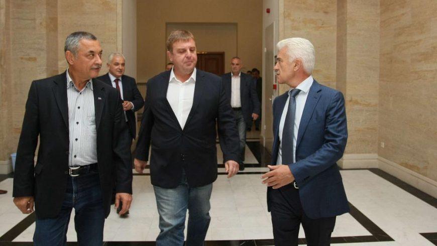 """И Каракачанов е за широка коалиция между ГЕРБ, БСП и """"Патриотите"""""""