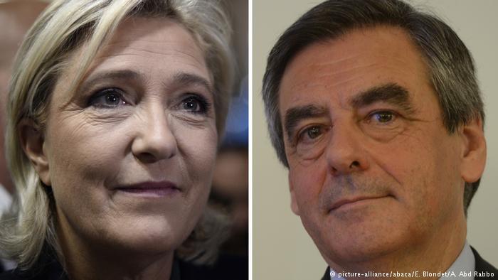 Le Pen Fillon