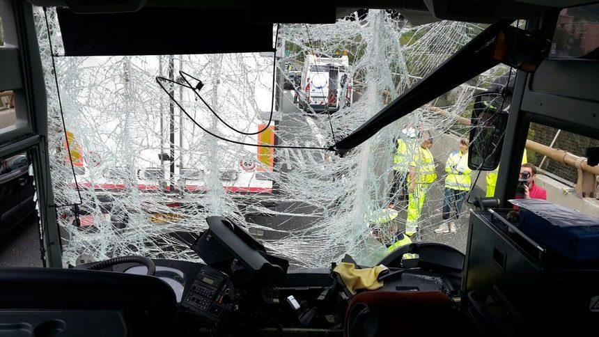 Автобус с български ученици е катастрофирал в Генуа