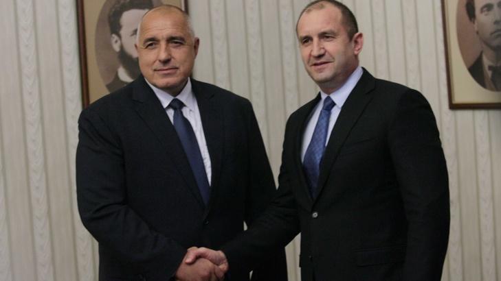 Президентът връчи мандат за правителство на Борисов