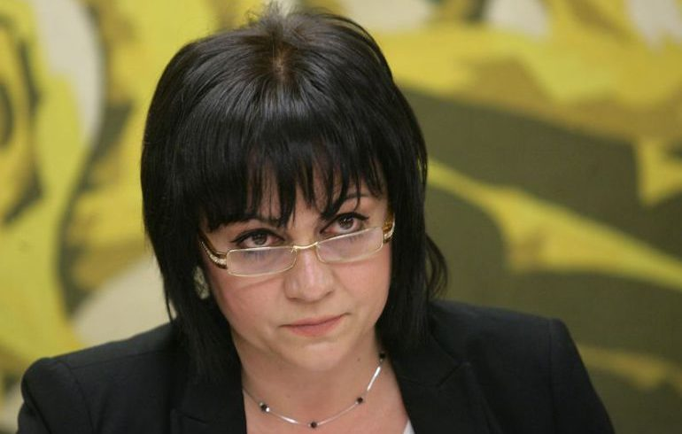 Нинова заложи лидерския си пост в БСП срещу оставката на Гергов