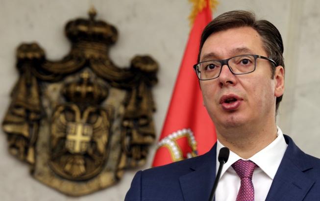 Вучич призна за сръбска намеса в Македония