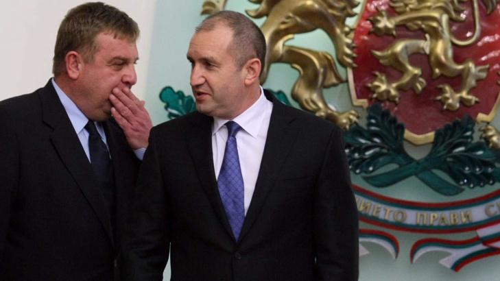 Каракачанов: Президентът да спазва правителствената позиция за НАТО
