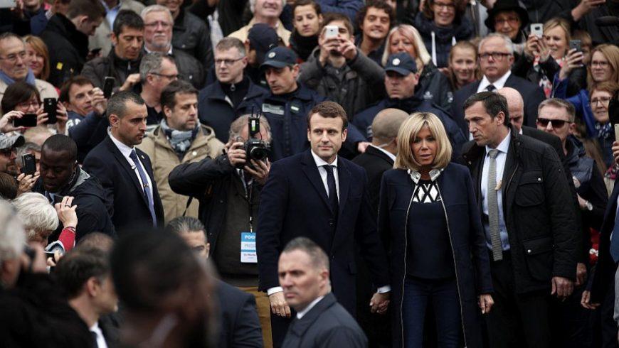 Белгийски екзитпол: Макрон води убедително пред Льо Пен