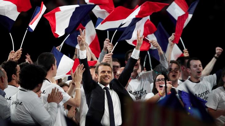 Макрон е президентът на Франция