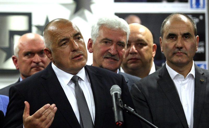 Борисов ще обяви третия си кабинет днес