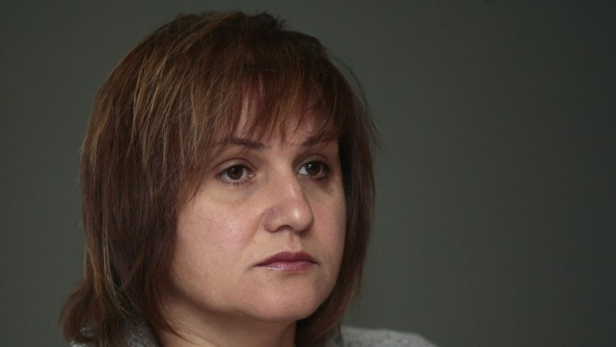 Весела Караиванова застава начело на НОИ