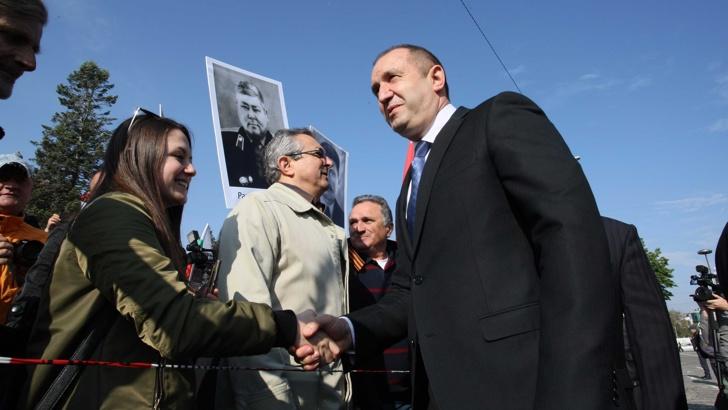 Радев: Празнуваме Деня на Европа, но и Деня на победата