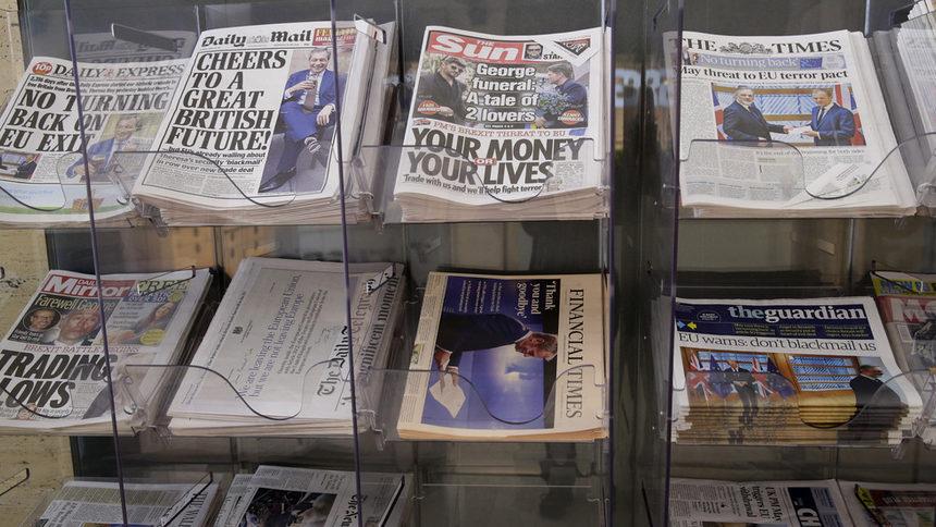 Водещите медии във Великобритания подкрепиха Мей