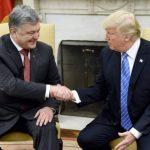Тръмп посрещна президента на Украйна Петро Порошенко