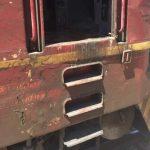 Пожар във влак на гара Горна Оряховица