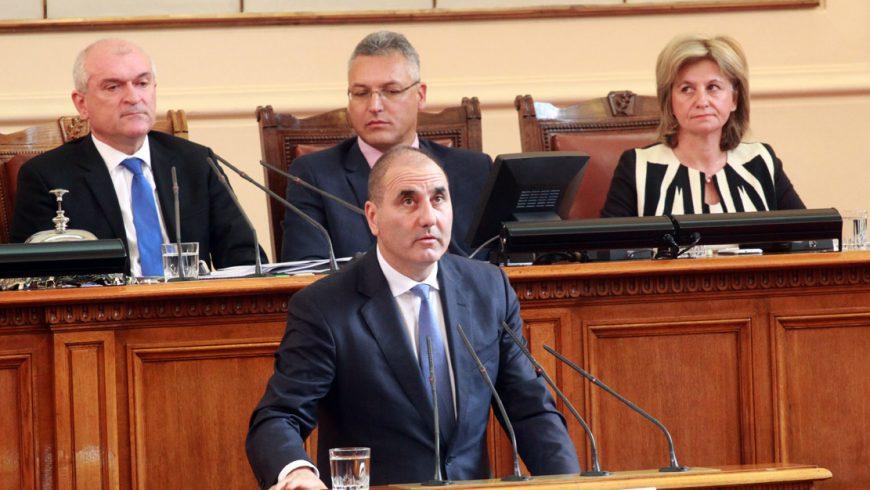 Цветанов: Да не се правят интерпретации с Доклада за националната сигурност