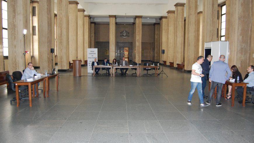 Прокурорите ще повторят избора си за членове на ВСС днес