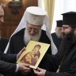Президентът Радев се срещна с патриарх Неофит
