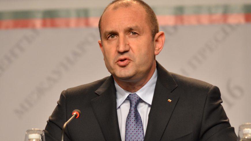 Президентът Радев отчита една година дейност
