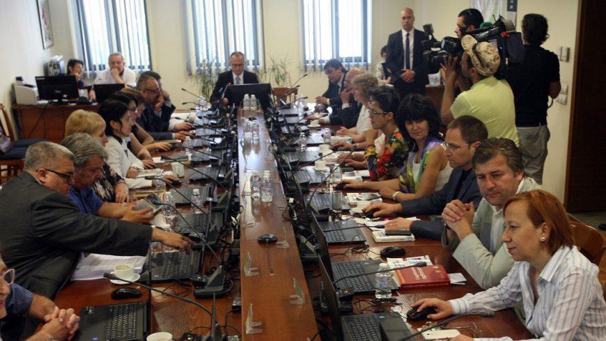 """Цацаров и Колев прекъснаха заседанието на ВСС заради """"обстановката"""""""