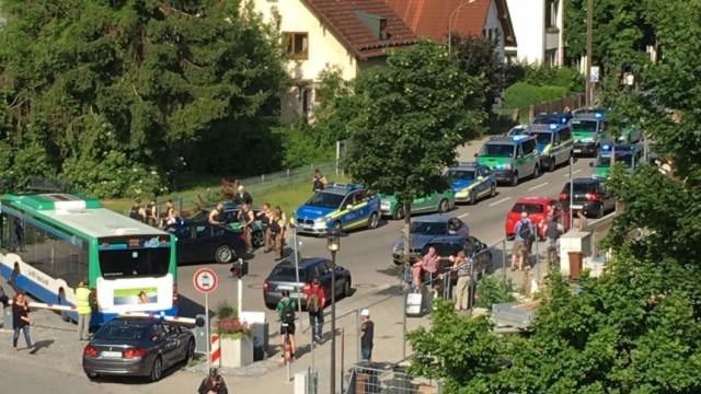 Стрелба в Мюнхен, има ранени