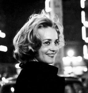 Prod DB © Nouvelles Editions de Films / DR ASCENSEUR POUR L'ECHAFAUD (ASCENSEUR POUR L'ECHAFAUD) de Louis Malle 1958 FRA avec Jeanne Moreau portrait, neons