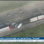 Двама с опасност за живота в тежката катастрофа с 40 коли при Ихтиман