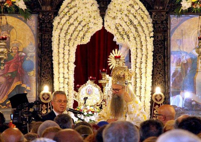 Пловдивският митрополит Николай награди Йордан Цонев с орден