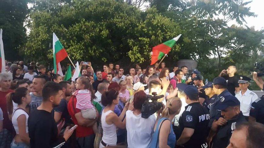 Очакват 15 000 души в Асеновград на протест тази вечер