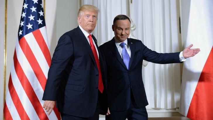 """САЩ и Полша имат обща тема: Да спрат """"Северен поток 2"""""""
