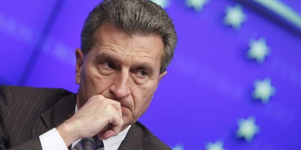 Йотингер: 12 млрд. евро годишно ще губи ЕС заради Брекзит