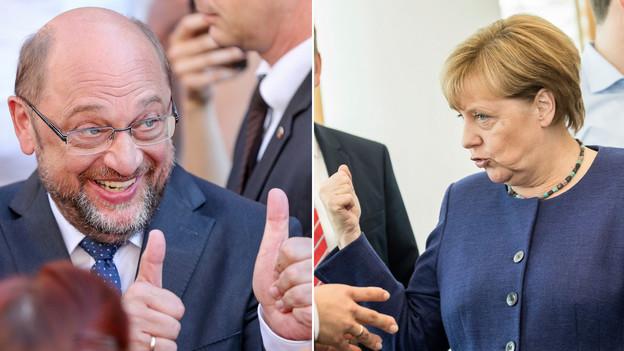 Телевизионният дебат Меркел – Шулц е последен шанс за социалдемократите