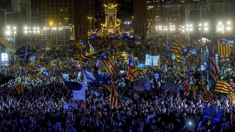 Каталуния се готви за референдума утре