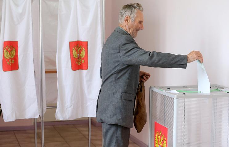 Партията на Путин води в местните избори в Москва