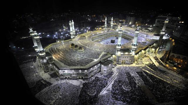 2,5 млн. мюсюлмани на поклонение в Мека